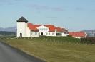 The presidential residence at Bessastadir